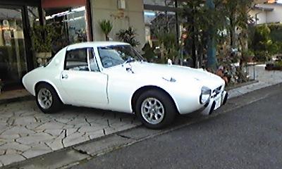 幻の名車(トヨタ S 800)